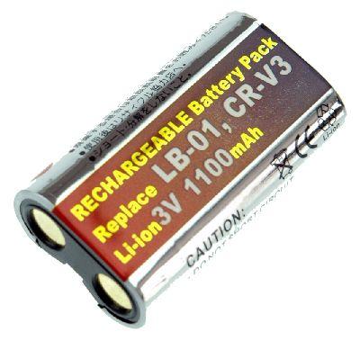 CASIO QV 3500EX accu 3 Volt Li-Ion 1100mAh