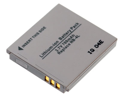 CANON POWERSHOT TX1 accu 3,7 Volt Li-Ion 650mAh