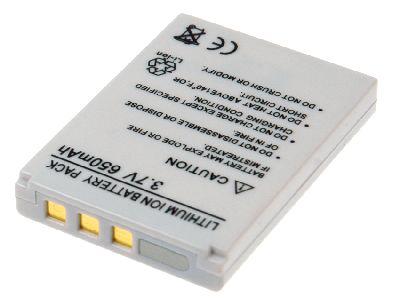 TCM SLIMLINE X4 accu 3,7 Volt Li-Ion 650mAh