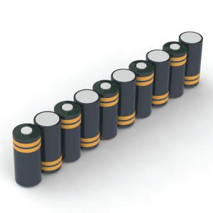 oorbeeld 10 cellen battery pack side by side