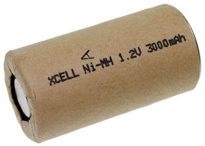 SubC 3000mAh NiMH Xcell