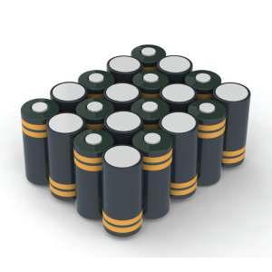 Battery pack 24 volt NiCd custom made blok