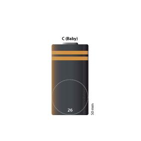 C-Cel  (Ø x h) 26 mm x 50 mm
