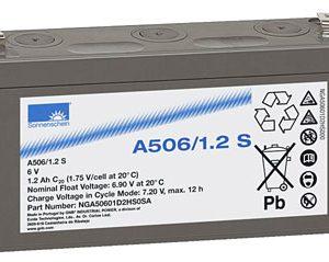EXIDE Sonnenschein Dryfit A500  Loodaccu - Gel  6 Volt  Dryfit A506/1.2S