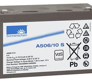 EXIDE Sonnenschein Dryfit Sonnenschein Dryfit A506/10S  accu - Gel  6 Volt  Dryfit A506/10S