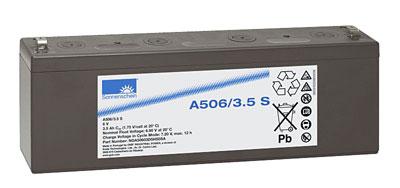 EXIDE Sonnenschein Dryfit A500  Loodaccu - Gel  6 Volt  Dryfit A506/3.5S