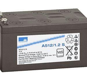 EXIDE Sonnenschein Dryfit A500  Loodaccu - Gel  12 Volt  Dryfit A512/1.2S