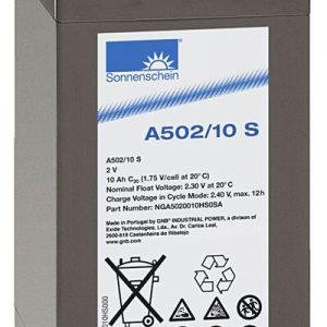 Sonnenschein A502/10s EXIDE Sonnenschein Dryfit A500  Loodaccu - Gel  2 Volt  Dryfit A502/10S