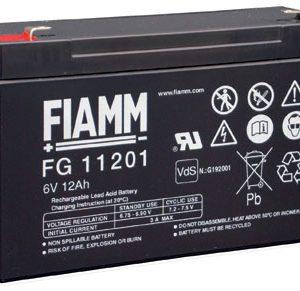 Fiamm FG11201 accu 6 volt 12Ah Vds G192001