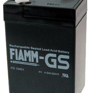 Fiamm FG Standaard  Loodaccu - AGM  6 Volt  FG10451
