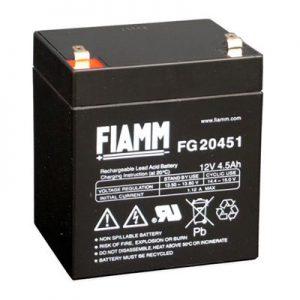 Fiamm FG Standaard  Loodaccu - AGM  12 Volt  FG20451