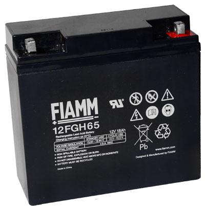 Fiamm FGH hoge stroom  Loodaccu - AGM  12 Volt  12FGH65 (FGH21803)