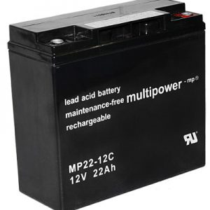 Multipower MPC Zyklen  Loodaccu - AGM  12 Volt  MP22-12C