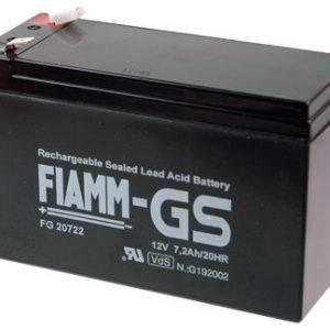 Fiamm FG Standaard  Loodaccu - AGM  12 Volt  FG20722