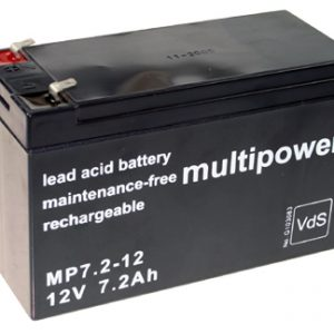 Multipower MP Standaard  Loodaccu - AGM  12 Volt  MP7.2-12