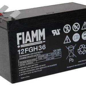 Fiamm 12FGH36 hoge stroom  Loodaccu - AGM  12 Volt  12FGH36 (FGH20902)