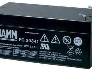Fiamm FG20341 Standaard  Loodaccu - AGM  12 Volt  FG20341