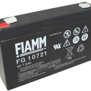 Fiamm FG Standaard  Loodaccu - AGM  6 Volt  FG10721