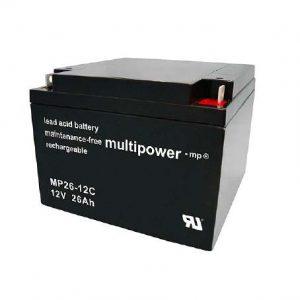 Multipower MPC Zyklen Loodaccu - AGM 12V 26Ah